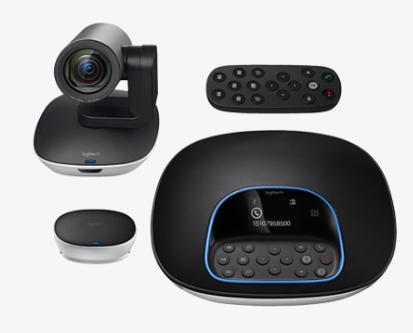 Immagine dispositivi di videoconferenza